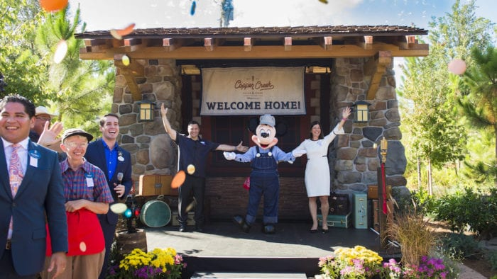 Copper Creek Villas and Cabins Now Open ceremony