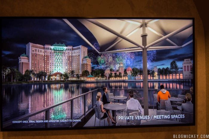 Over Water Restaurant Coming to Coronado Springs fireworks