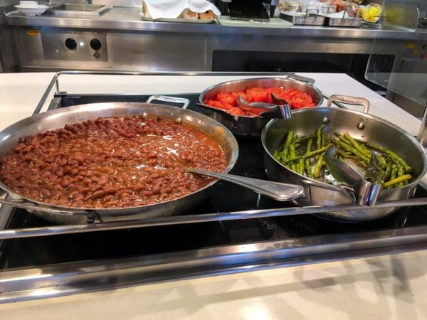 Disney Cruise Cabanas Breakfast Review Baked Beans