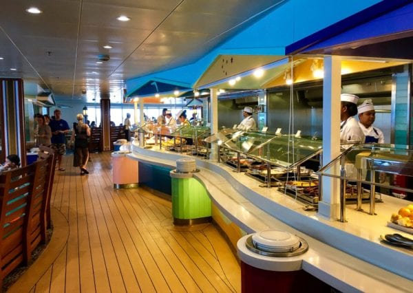 Disney Cruise Cabanas Breakfast Review Buffet