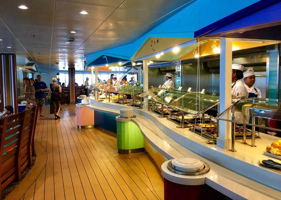 Disney Cruise Cabanas Breakfast Review Buffet