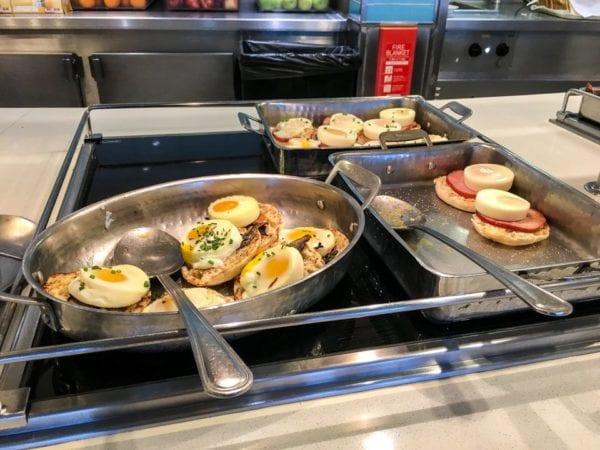 Disney Cruise Cabanas Breakfast Review Eggs Benedict