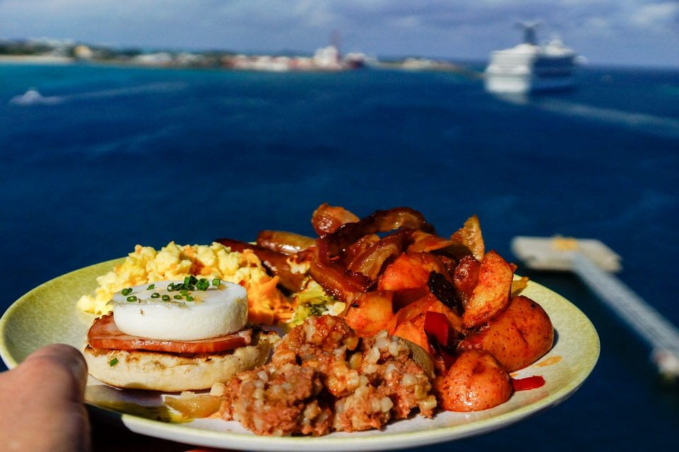 Disney Cruise Cabanas Breakfast Review