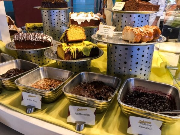 Disney Cruise Cabanas Breakfast Review Cakes and Jams