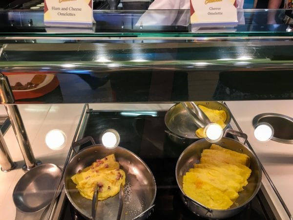 Disney Cruise Cabanas Breakfast Review Omelettes