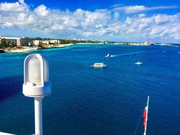 DisnDisney Cruise Cabanas Breakfast Review Upper Deck View