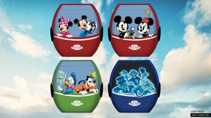 Disney Skyliner Details