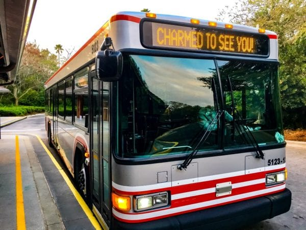 Stay in a Disney resort transportation