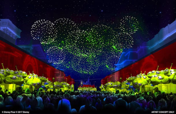 new fireworks show coming to Disneyland