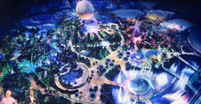 Illuminations Fireworks Replacement Show concept art