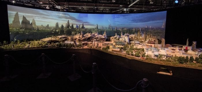 Star Wars Land Model full shot