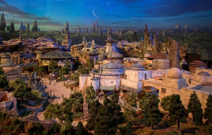 Star Wars Land Model city