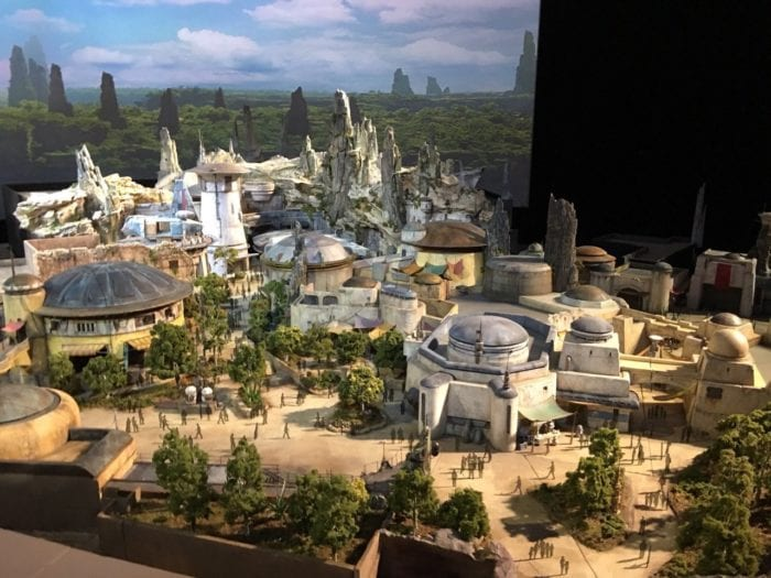 Star Wars Land Model planet