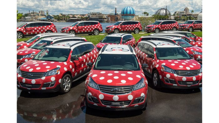 Disney's Minnie Van Service Starts this Month