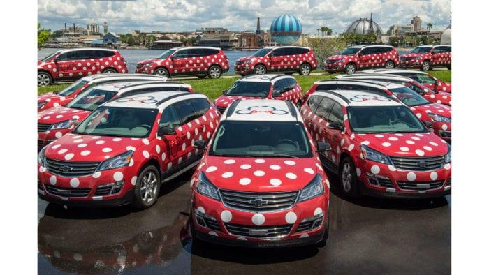 Disney's Minnie Van Service