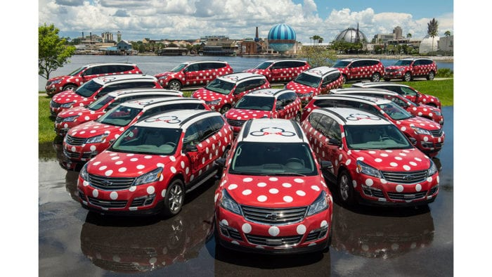 Walt Disney World's Minnie Van Service Now Available