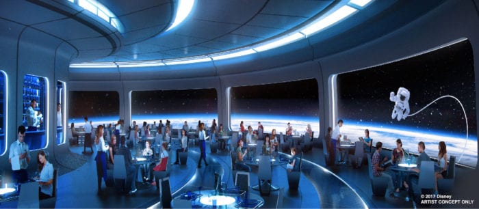 Mission Space Restaurant Coming to Epcot