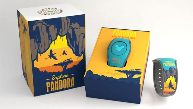 2 New Pandora The World of Avatar MagicBands sunset