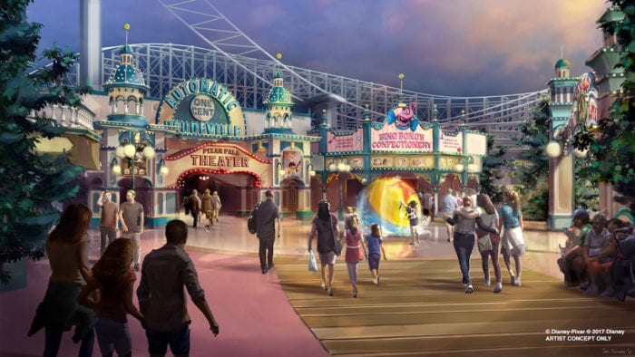 Pixar Pier Coming to Disney California Adventure
