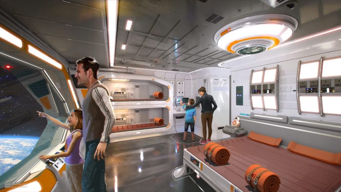 Star Wars Themed Resort bedroom