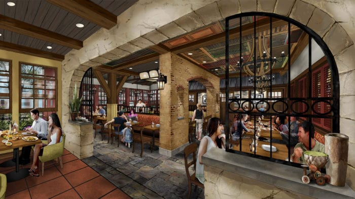 New Details about Terralina Crafted Italian in Disney Springs