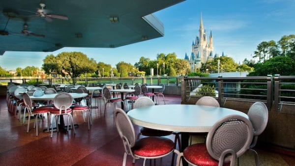 Disney's Mobile Order Coming to Tomorrowland Terrace