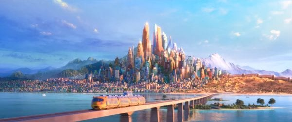 Zootopia Land Coming to Animal Kingdom Zootopia city