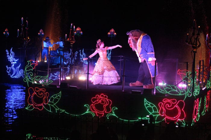 Fantasmic 2.0 Review beauty and the beast
