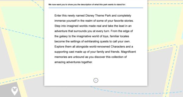 Hollywood Studios name change park description