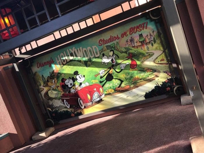 Mickey and Minnie's Runaway Railway signs big