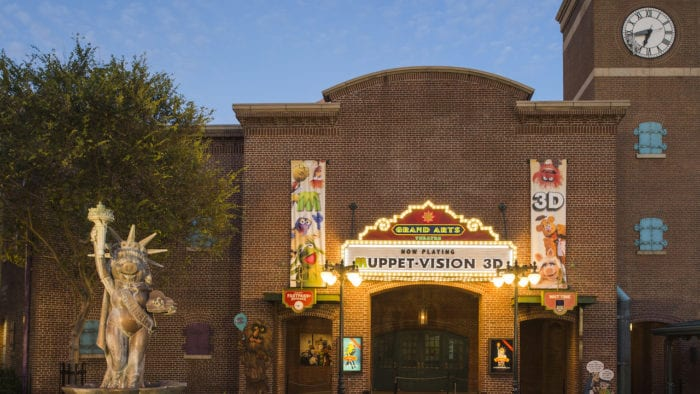 Muppets Courtyard Becoming Grand Park