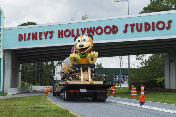 Slinky Dog Dash Coaster Ride Vehicle