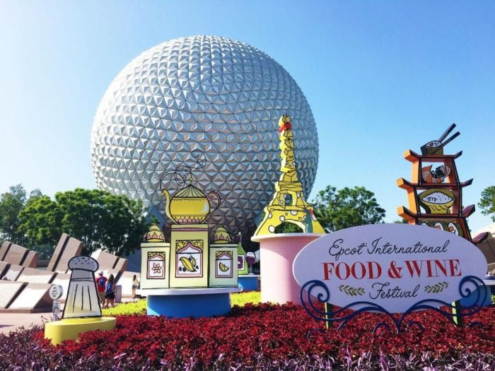 2017 Epcot Food and Wine Festival Info
