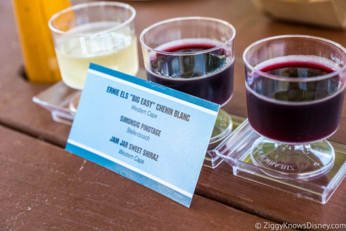 Africa Review: 2017 Epcot Food and Wine Festival African Wine Flightl