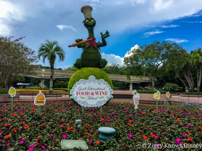 Epcot International Food and Wine Party Figment