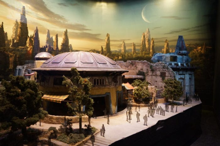 New Star Wars Galaxy's Edge Model side
