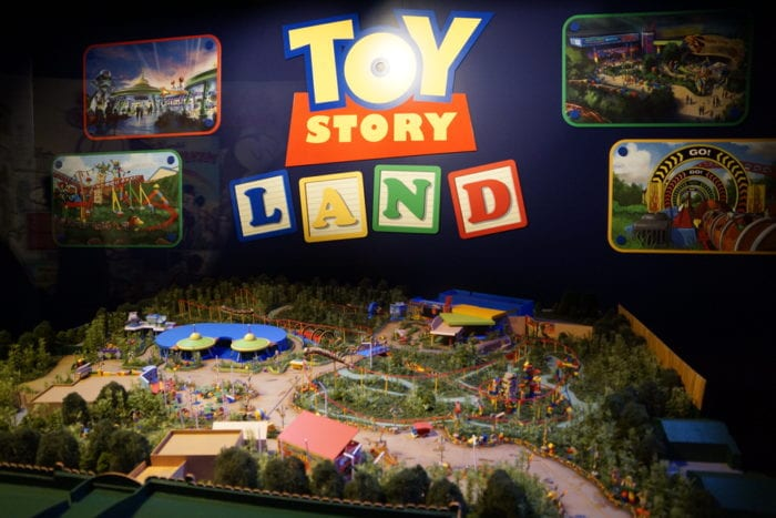 Toy Story Land Model full size
