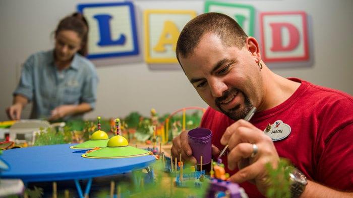 Walt Disney Presents Opening toy story model