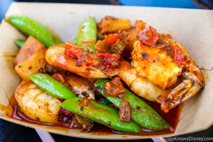 Australia Review 2017 Epcot Food and Wine Festival Grilled Sweet and Spicy Bush Berry Shrimp