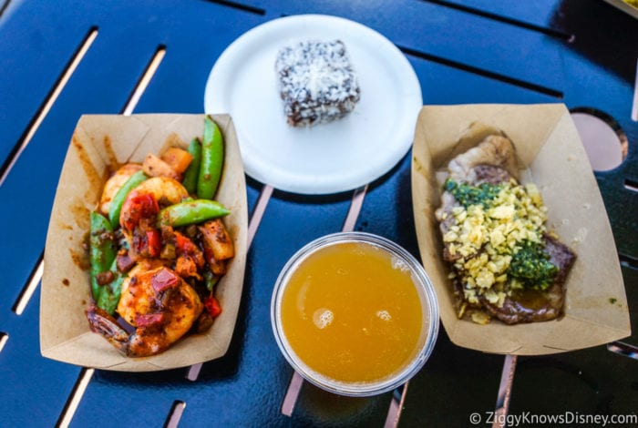 Australia Review 2017 Epcot Food and Wine Festival all the food