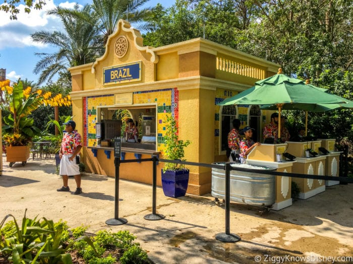 Brazil Review 2017 Epcot Food and Wine Festival Brazil Booth