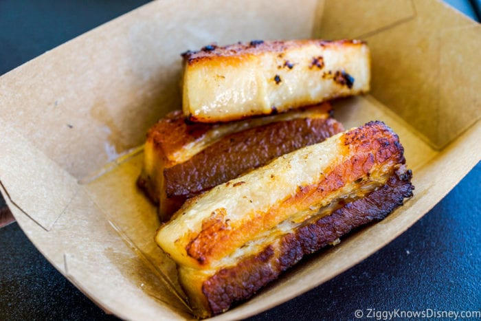 Brazil Review 2017 Epcot Food and Wine Festival Crispy Pork Belly Plain horizontal
