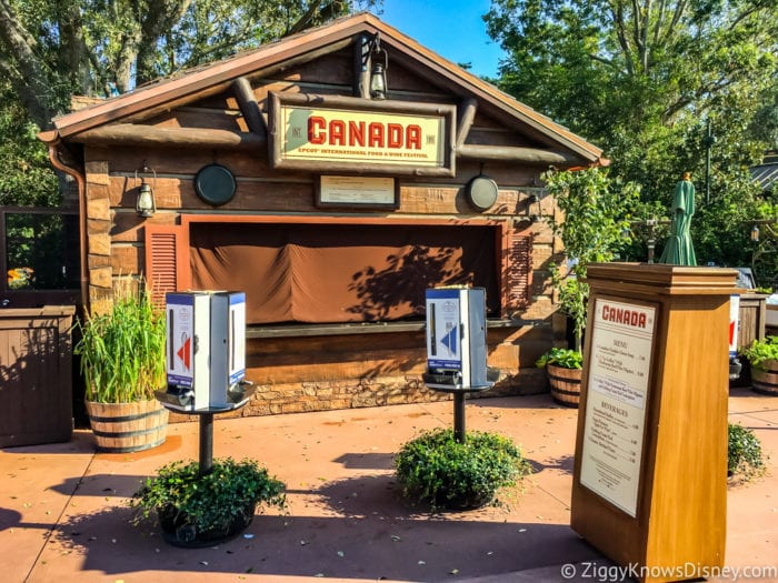 Canada Review 2017 Epcot Food and Wine Festival Canada Booth