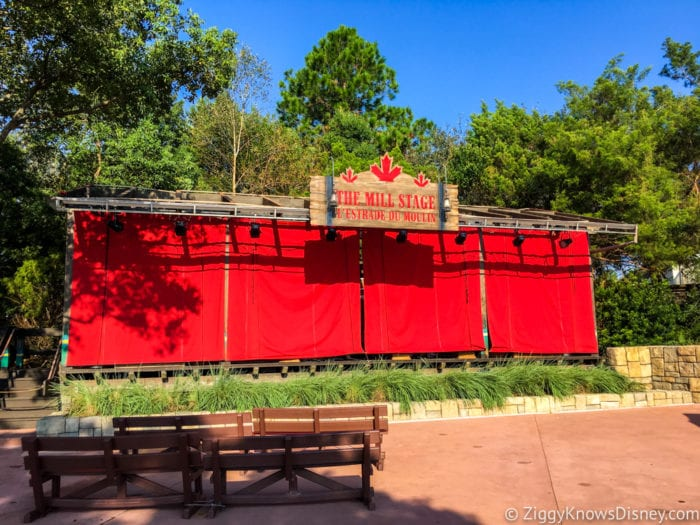 Canada Review 2017 Epcot Food and Wine Festival The Mill Stage