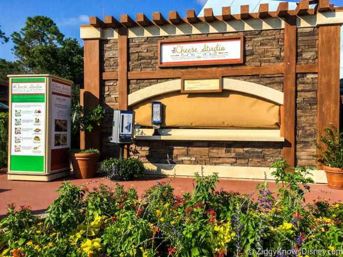 Cheese Studio Review 2017 Epcot Food and Wine Festival Cheese Studio Booth