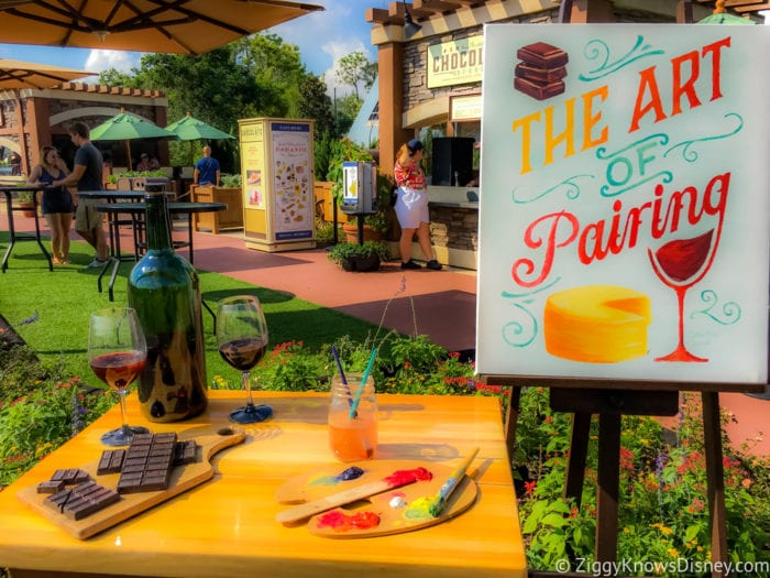 Chocolate Studio Review 2017 Epcot Food and Wine Festival The Art of Pairing Chocolate