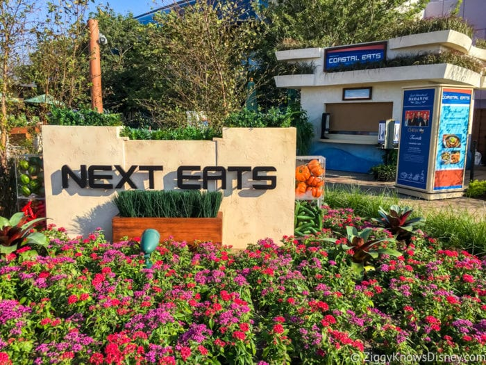 Coastal Eats Review 2017 Epcot Food and Wine Festival Next Eats Courtyard