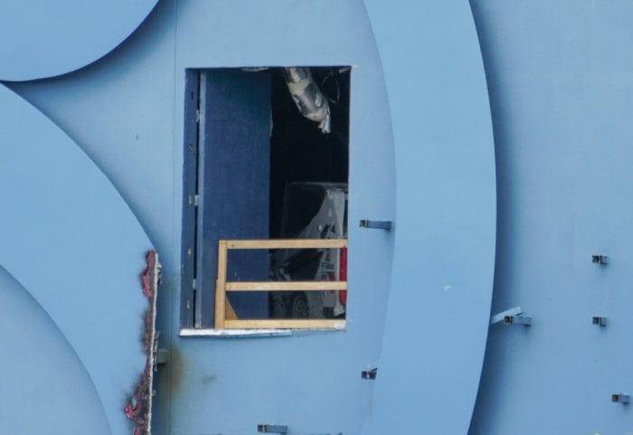 Disney Quest Demolition door