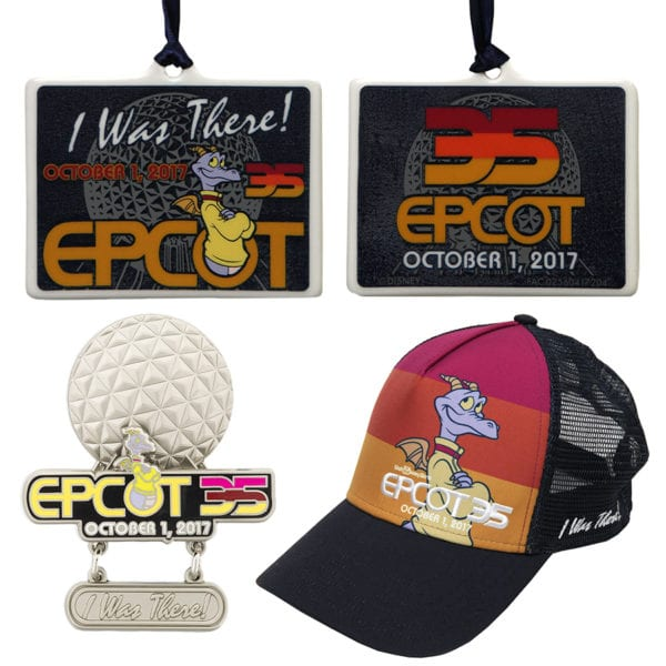 Epcot 35th Anniversary I Was There merchandise