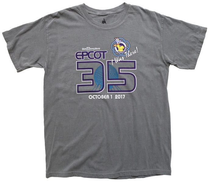 Epcot 35th Anniversary I Was There shirt